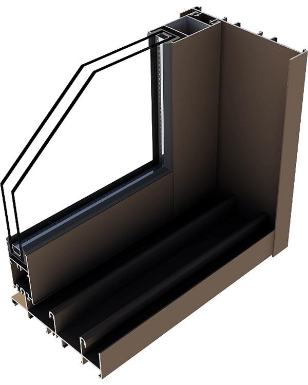 Simar-Fabricante-Aluminio-Portas-PVC--Aluminio- Sistema de Correr c-90